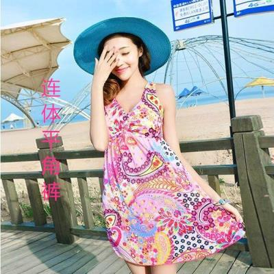 Split swimsuit Other Skirt split swimsuit With chest pad without steel support Spandex, polyester