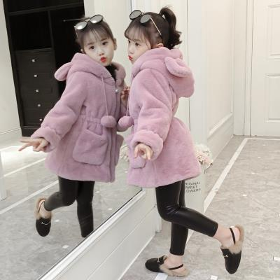 Plain coat Other / other female 110cm,120cm,150cm,130cm,140cm Pink, coffee winter Korean version Zipper shirt There are models in the real shooting thickening No detachable cap Solid color blending other D00141 Class B
