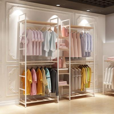 Clothing display rack clothing manmade board See description Other / other Official standard