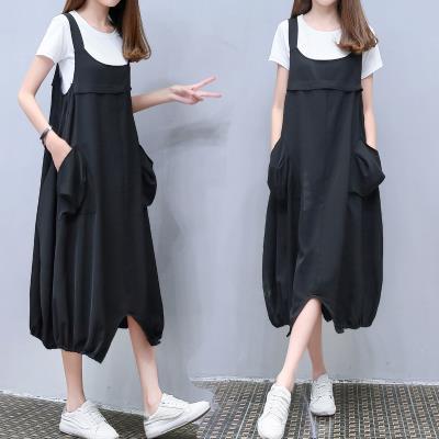 Nursing clothes black S,M,L,XL,2XL,3XL Other / other Socket summer Short sleeve Medium length leisure time