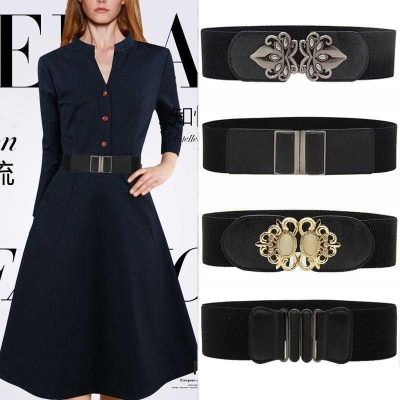 Belt / belt / chain other female Waistband Versatile Single loop a hook soft surface alloy Tightness Other / other Y0Mp3Ime 1cm