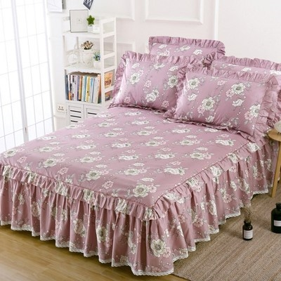 Bed skirt 90x200 bed skirt, 120x200 bed skirt, 150x200 bed skirt, 180x200 bed skirt, 180x220 bed skirt, 200x220 bed skirt, 120x200 bed skirt + pillow case, 150x200 bed skirt + pillow case, 180x200 bed skirt + pillow case, 180x220 bed skirt + pillow case, 200x220 bed skirt + pillow case cotton