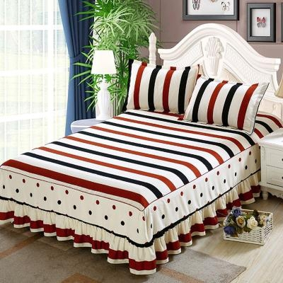 Bed skirt Bed skirt 1.8x2.0m, bed skirt 1.8x2.2m, bed skirt 2.0x2.2m, bed skirt 1.5x2.0m, bed skirt 1.2x2.0m polyester fiber Other / other Plants and flowers Qualified products DkM4LD0z
