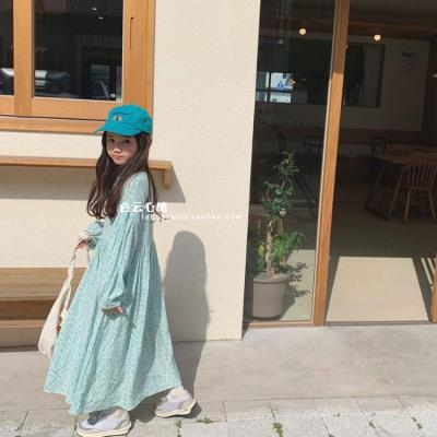 Dress Pink (non refundable), water blue (non refundable) female Other / other 90cm,100cm,130cm,140cm,110cm,120cm,150cm Cotton 100% spring and autumn wqY9fUGZ Class A
