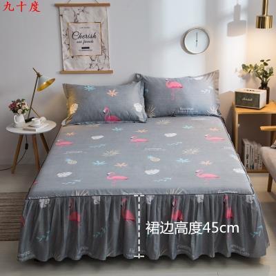 Bed skirt 100cmx200cm, 135cmx200cm, 200cmx220cm, single bed skirt 120x200cm, two pillowcases, the same quilt cover 180x220cm, single bed skirt 180x200cm, two pillowcases, the same quilt cover 150x200cm, the same quilt cover 200x230cm, single bed skirt 180x220cm, two pillowcases cotton Other / other