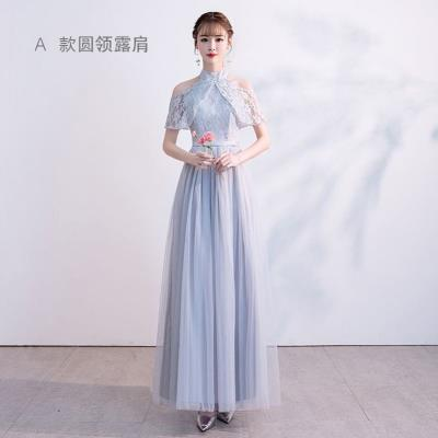 Dress / evening wear Wedding, adulthood, party, company annual meeting, performance, routine, appointment Korean version longuette Elastic waist Summer of 2019 Skirt Princess Sling type zipper Netting 18-25 years old elbow sleeve flower Decor Other / other Flying sleeve other Non handmade flower