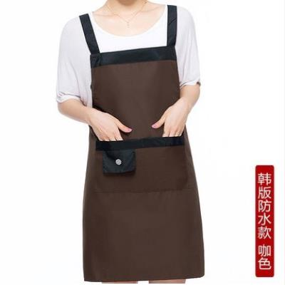 apron Red, purple, coffee, rose, coffee 2, pink 2, purple 2, smile apron waterproof Simplicity other Household cleaning Average size