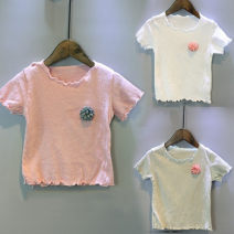 T-shirt White, pink, green Other / other 7,9,11,13,15 female summer Short sleeve Korean version nothing other other 2 years old, 3 years old, 4 years old, 5 years old, 6 years old