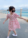 Dress Wave point female Other / other 7(90cm),9(100cm),11(110cm),13(120cm),15(130cm) Other 100% summer Korean version Short sleeve other other 2 years old, 3 years old, 4 years old, 5 years old, 6 years old Chinese Mainland