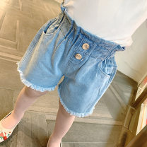 trousers Other / other female 7,9,11,13,15 cowboy summer shorts Korean version Jeans other F7347 F7347 2 years old, 3 years old, 4 years old, 5 years old, 6 years old Chinese Mainland