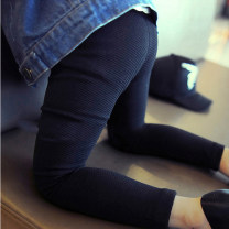trousers Other / other female 7(100cm),9(110cm),11(120cm),13(130cm),15(140cm) black spring and autumn trousers Korean version Leggings Leather belt middle-waisted other Don't open the crotch F0478 other Leggings 2 years old, 3 years old, 4 years old, 5 years old, 6 years old