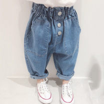 trousers Other / other female 7(90cm),9(100cm),11(110cm),13(120cm),15(130cm) Graph color summer trousers Korean version Jeans other F4888 F4888 2 years old, 3 years old, 4 years old, 5 years old, 6 years old Chinese Mainland