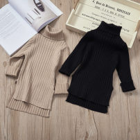 Sweater / sweater 7(90cm),9(100cm),11(110cm),13(120cm),15(130cm) other female Black, brown Other / other Korean version Socket High collar nothing Ordinary wool Solid color F4434 2 years old, 3 years old, 4 years old, 5 years old, 6 years old Chinese Mainland