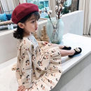 Dress Beige female Other / other 7(90cm),9(100cm),11(110cm),13(120cm),15(130cm) Other 100% spring and autumn princess Long sleeves other other F5166 2 years old, 3 years old, 4 years old, 5 years old, 6 years old Chinese Mainland