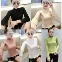 sweater Winter of 2019 Average size White, black, apricot, green, pink Long sleeves Socket cotton 71% (inclusive) - 80% (inclusive) Other / other 05A1016.107035