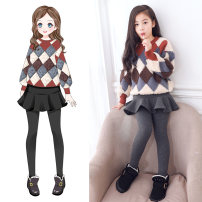 suit 110cm 120cm 130cm 140cm 150cm 160cm 170cm female spring and autumn leisure time Long sleeve + skirt 2 pieces routine There are models in the real shooting Socket nothing other other Class B Other 100% Autumn of 2019 Chinese Mainland