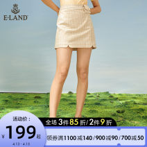 skirt Spring 2021 155/XS 160/S 165/M 170/L Blue (50) brown 85 Short skirt Sweet Natural waist A-line skirt lattice Type A 25-29 years old EEWHB6302I 51% (inclusive) - 70% (inclusive) E·LAND polyester fiber Button Pure e-commerce (online only) Ruili