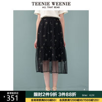 skirt Summer 2020 155/XS 160/S 165/M 170/L 175/XL Navy Blue Mid length dress commute Natural waist A-line skirt Cartoon animation Type A 18-24 years old TTWH206303N1 More than 95% Teenie Weenie other Lotus leaf bright silk Britain Other 100% Pure e-commerce (online only)