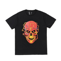 T-shirt black S is bigger, M is bigger, l is bigger, XL is bigger Summer of 2019 Short sleeve Crew neck easy Regular routine street cotton 96% and above 18-24 years old originality Other / other Europe and America