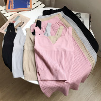 Fashion suit Summer 2020 Average size Apricot suit, pink suit, grey suit, black suit 18-25 years old Other / other DD208155 30% and below