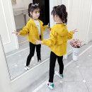 Plain coat Niuniu family female 110cm 120cm 130cm 140cm 150cm 160cm Yellow rose spring and autumn Korean version Zipper shirt There are models in the real shooting routine nothing other other other Other 100% Class B Autumn 2020