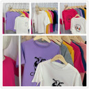 T-shirt neutral summer Short sleeve Crew neck leisure time No model nothing cotton Cartoon animation Cotton 95% polyurethane elastic fiber (spandex) 5% other other 12 months, 9 months, 4 years, 5 years, 6 years, 7 years, 8 years, 9 years, 10 years, 11 years, 12 years Chinese Mainland Jieyang City