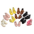 Doll / accessories parts Over 14 years old De Bi Sheng China Suitable for small doll (30cm) suitable for medium Doll (20cm high)) Sao pink black pink off white dark brown bright yellow Over 14 years old Baby leather shoes parts Limited collection cloth other nothing Shoes and Hats