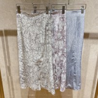 skirt Spring 2021 S, M White, blue, purple longuette Sweet Natural waist A-line skirt Decor Type A 25-29 years old 31% (inclusive) - 50% (inclusive) Lace see peony polyester fiber Lace, print solar system