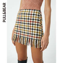 skirt Winter 2020 XS (160/56Y) S (165/62Y) M (170/68Y) L (175/74Y) XL (180/80Y) brown Short skirt street High waist lattice 18-24 years old 09397338707-27 31% (inclusive) - 50% (inclusive) PULL&BEAR acrylic fibres Same model in shopping mall (sold online and offline) Europe and America