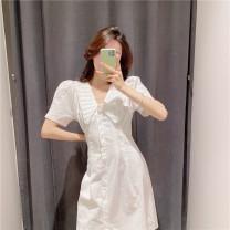 Dress Summer 2021 white XS,S,M,L singleton  51% (inclusive) - 70% (inclusive) other