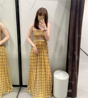 Dress Summer of 2019 yellow XS,S,M,L singleton  51% (inclusive) - 70% (inclusive) other