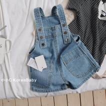 trousers Other / other neutral 80cm,90cm,100cm,110cm,120cm,130cm blue summer shorts Korean version No model rompers middle-waisted Cotton denim Don't open the crotch Cotton 97% other 3% K073 dveeakids 12 months, 18 months, 2 years old, 3 years old, 4 years old, 5 years old, 6 years old, 7 years old