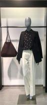 Fashion suit Spring 2021 00/XS,0/S,2/M,4/L,8,10 Black top, black skirt