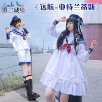 Lolita / soft girl / dress Second Castle Winter, spring, spring and autumn goods in stock Lolita, soft girl, navy