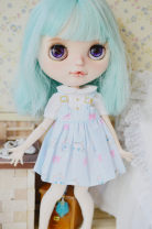 Doll / accessories Over 14 years old parts Other / other China No dolls Dream purple, light blue top, blue cat (darker than picture), white top, pink top, footprint top, rabbit, black cat, black and white stripe, pink cat, yellow top, green top Over 14 years old other
