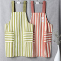 apron Stripe green, stripe blue, stripe red, dot green, dot blue, dot red Sleeveless apron antifouling Japanese  other Household cleaning Average size BY018 Capriccio public yes Tender girl's heart