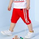 trousers singbail neutral 80cm,90cm,100cm Red, black summer Pant leisure time Sports pants Tether middle-waisted Pure cotton (100% content) Cotton 100% Z1095CH 3 months, 12 months, 6 months, 9 months, 18 months, 2 years old, 3 years old, 4 years old