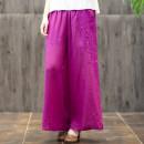 Casual pants Average size Summer 2020 trousers Wide leg pants Natural waist commute 96% and above hemp literature hemp