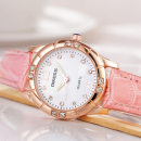 Wristwatch DIKESS Shop warranty quartz movement  female Artificial leather domestic 3ATM alloy Mineral reinforced glass mirror 9mm 31mm Brand watch circular fashion Pointer type brand new Pin buckle ordinary ordinary Reprint 2016 China