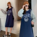Sweater / sweater blue Other / other Socket nothing Korean version Plush Long sleeves Solid color Pure cotton (95% and above)