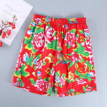 Casual pants Others other Red, black, sapphire, dark green, pink S,M,L,XL,2XL,3XL,4XL thin Shorts (up to knee) motion easy No bullet summer High waist pocket cotton