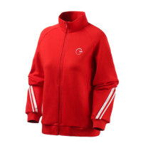 Sports jacket / jacket Guirenniao female XS (adult), s (adult), m (adult), l (adult), XL (adult), XXL (adult), XXL (adult) -1 traffic red, - 2 Alpine salt powder, - 3 forest green, - 4 black Hood zipper Brand logo Sports & Leisure Breathable and durable Sports life