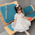 Dress white female Other / other 80cm,90cm,100cm,110cm,120cm,130cm Cotton 100% summer princess Short sleeve Solid color blending A-line skirt Class B 18 months, 2 years old, 3 years old, 4 years old, 5 years old, 6 years old Chinese Mainland Zhejiang Province Huzhou City