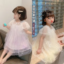 Dress female Other / other 90cm,100cm,110cm,120cm,130cm Other 100% summer princess Short sleeve Solid color Cotton polyester A-line skirt Class B 18 months, 2 years old, 3 years old, 4 years old, 5 years old, 6 years old Chinese Mainland Zhejiang Province Huzhou City