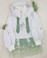 Lolita / soft girl / dress Three five pavilion The second batch deposit of Han element [full amount 259], the second batch deposit of Lolita [full amount 539] XS,S,M,L,XL Summer, spring, autumn Pre sale Chinese style, classical, Lolita