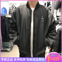 Jacket GXG Youth fashion black routine standard Other leisure winter Long sleeves Wear out Baseball collar tide male routine zipper Closing sleeve