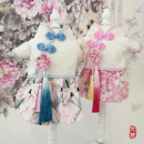 Pet clothing / raincoat currency Tang costume Number one, number two, number three, number four, number five, number six, number seven, hairpin Little home other Blue, pink, hairpin 1, hairpin 2, hairpin 3