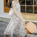 Fashion suit Sltown 182AA3 Summer 2018 Polyester 100% Pure e-commerce (online sales only) 18-25 years old Printed chiffon [top] - spot printed chiffon [skirt] - spot S M L