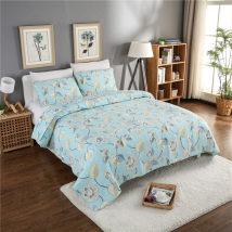Cotton quilt Свежий и элегантный трехсекционный хлопок Кондиционер / лето прохладно Лунный вечер / сна 230x250cm 95% (включительно) -100% (без учета) подбивка Обычная ткань