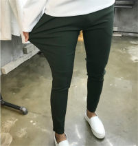 Casual pants Others Youth fashion Black, dark blue, ginger S,M,L,XL,2XL,3XL trousers Other leisure easy